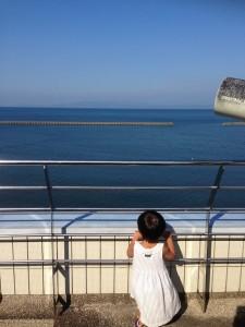 鹿児島の南端の海